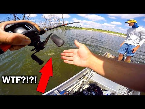 Catching TWO Fish on ONE Lure!!!