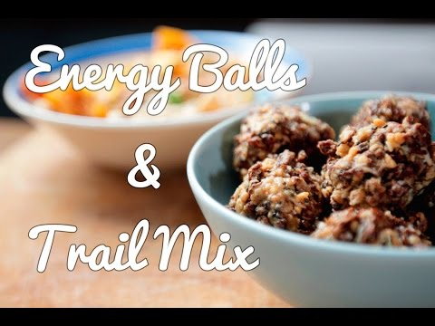 FOOD ON THE MOVE | Energy Balls And Trail Mix