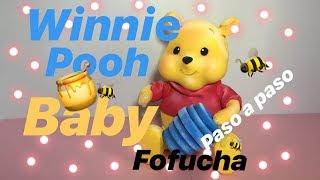 Fofucha WINNIE POOH baby ( manualidades con GOMA EVA)