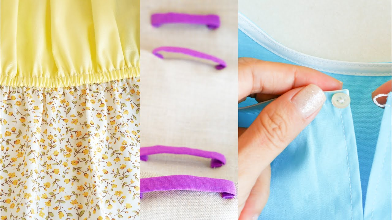 Sewing Techniques For Beginners | Basic Sewing Techniques You Should Know | Thuy Sewing