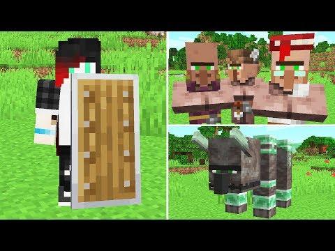 NEW 1.10 Minecraft PE Update is HUGE!! (SHIELDS!!)