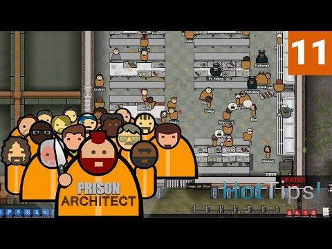 Prison Architect 2.0 - Ep 11 - Man Up Son - Let's Play