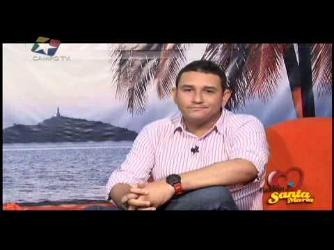 Hanled Lombardy, Director Unimagdalena Radio, invitado en Pasión Por Santa Marta TV