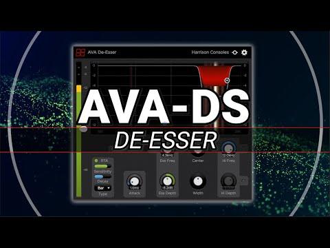 Harrison AVA De-Esser Plugin (AAX/VST/VST3/AU)