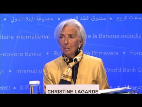 FMI: Lagarde appelle à ne pas compromettre le commerce