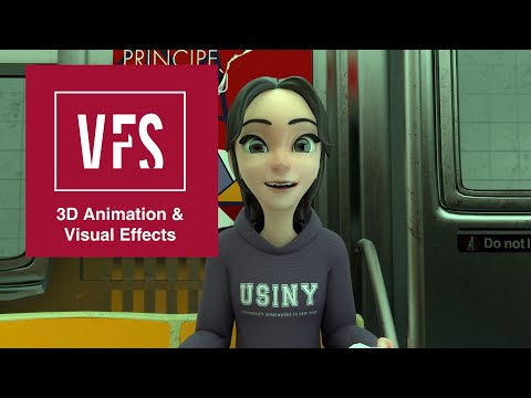 Character Animation Reel by Rena Kudo - Vancouver Film School (VFS)