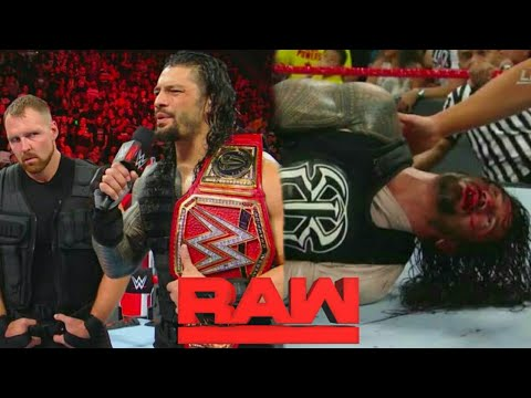 WWE Monday Night Raw 15 October 2018 Hindi highlights Preview - Dean Ambrose Break the Shield