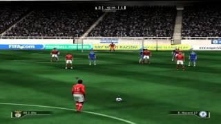 Fifa 09 : Andy vs oNNe | Chelsea vs Benfica [revansa]