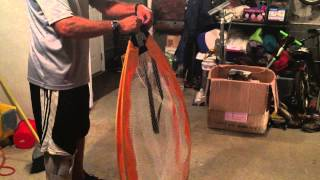 Folding A Pugg Soccer Goal Properly