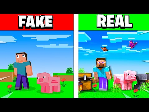 I Tested 6 FAKE Minecraft Games...