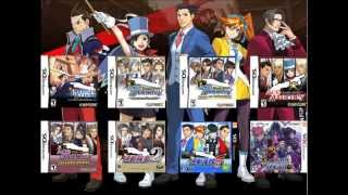 Repeat youtube video Ace Attorney Music Compilation: Cross-Examination ~ Moderato [Version 1] 2013