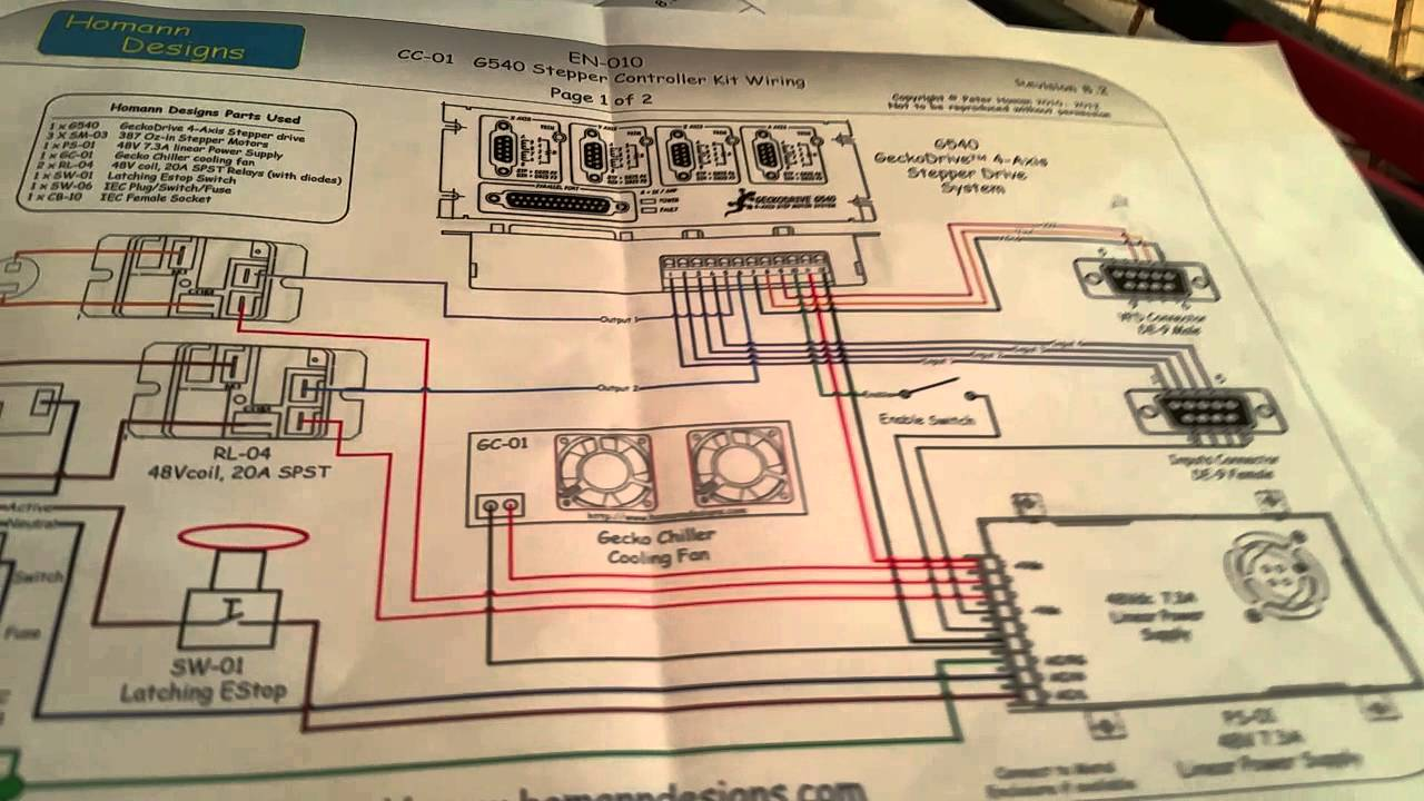 How To Get Mach3 controlling Home Built CNC Machine using