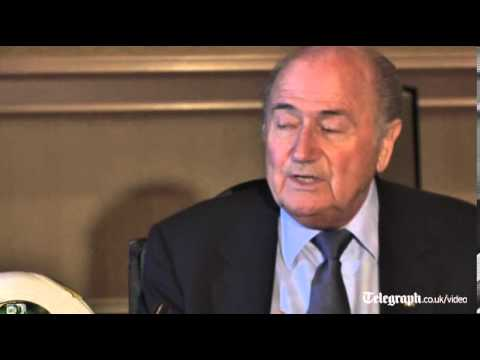 Fifa's Sepp Blatter angry with Uefa