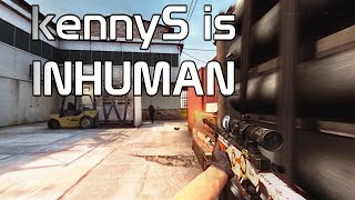 CS:GO - kennyS INHUMAN REACTIONS
