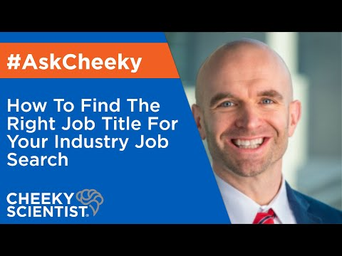 How To Find The Right Job Title For Your Industry Job Search