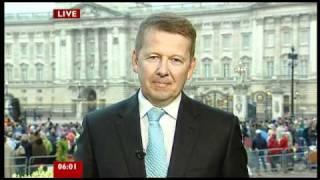 BBC Breakfast at The Royal Wedding -- 29/04/2011