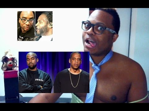 Jahiem Fights Charlamagne...... JAYZ hates Kanye West & More!!