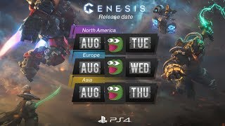 New PS4 MOBA Genesis Release Date FINALLY Announced!