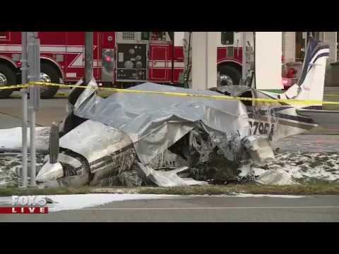 Small plane crashes in Chesterfield, Missouri.