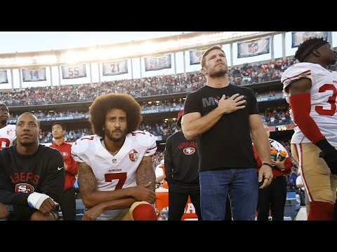 Here's how Nate Boyer got Colin Kaepernick to go from sitting to kneeling