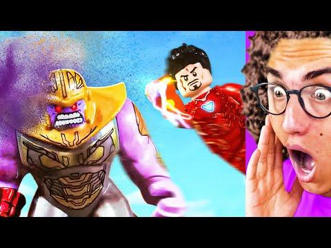 Amazing LEGO SUPERHERO FIGHT YOU NEED TO SEE!