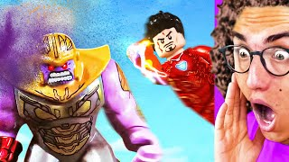 Amazing LEGO SUPERHERO FIGHT YOU NEED TO SEE!