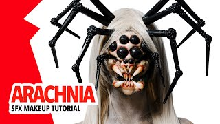 Arachnia sfx makeup tutorial