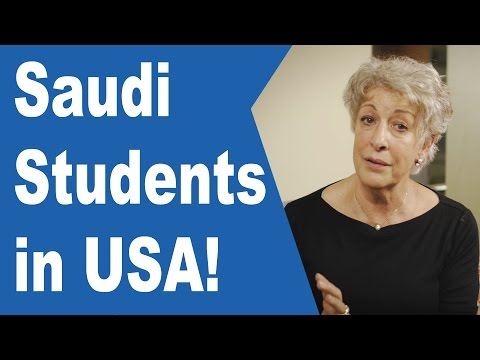 Why There Are So Many Saudi Students in USA?  (مترجم)