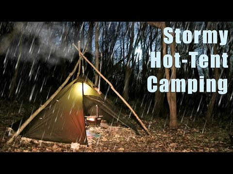 Stormy Night in a Hot Tent
