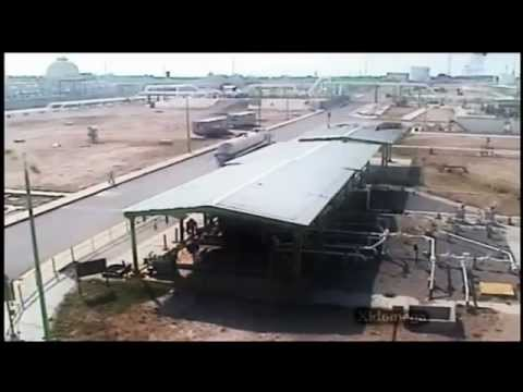 [RAW]Gas Explosion at terminal in Reynosa Mexico(CCTV)