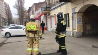 Первые кадры с места взрыва у школы в Ростове