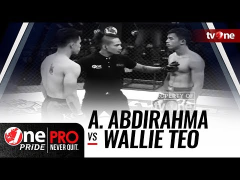 Ahmad Abdirahma vs Wallie Teo - One Pride MMA Mp3