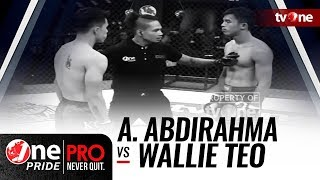 Ahmad Abdirahma vs Wallie Teo - One Pride MMA