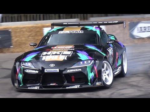Goodwood FOS 2019: Day 2 - Toyota GR Supra Drift By HKS, Ken Block Show, Crash & More!