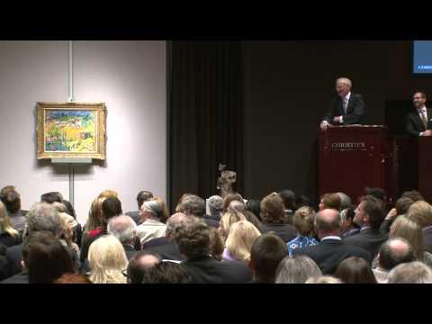 Maurice de Vlaminck's Paysage de banlieue | 2011 World Auction Record