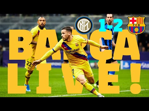 ⚽ Inter 1 - Barça 2 | BARÇA LIVE: Match Center #InterBarça