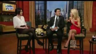 Selena Gomez on Regis and Kelly 10/2/09