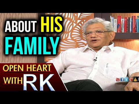 CPI(M) General Secretary Sitaram Yechury  About His Family | Open Heart With RK | ABN Telugu