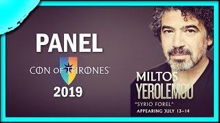Syrio Forel | Miltos Yerolemou Spotlight at Con of Thrones 2019