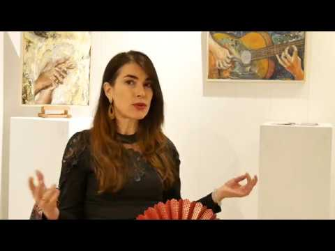 interview Isabelle Jacq Gamboena - artiste peintre - univers flamenco