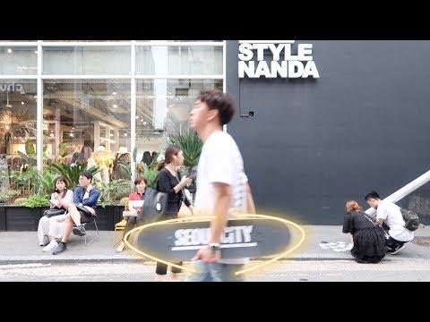 SKATEBOARDING IN HONGDAE | Seoul Skate Shops 🔥