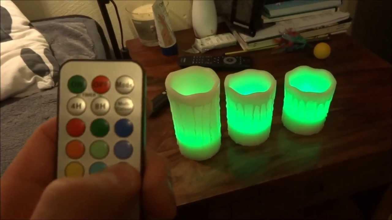 mooncandles led flammenlose batterie kerzen mit tropfender wachs optik farbwechsel test. Black Bedroom Furniture Sets. Home Design Ideas