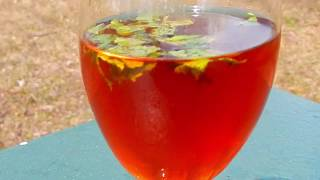 Juice recipe   Thanuppicha Kattan Chaya   Ice Tea   Drinks for summer   ice tea recipe in malayalam