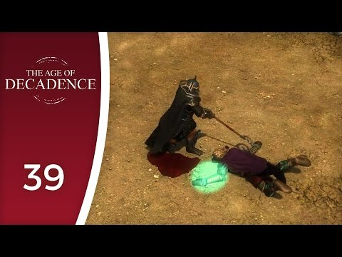 Tertius, the cleaner - Let's Play The Age of Decadence #39