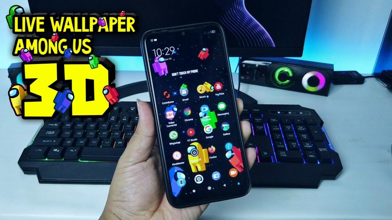 Lock Screen Among Us Live Wallpaper Iphone - YAY Gadget