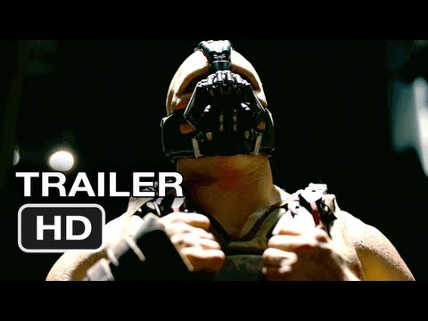 The Dark Knight Rises Official Movie Trailer Christian Bale, Batman Movie (2012) HD poster