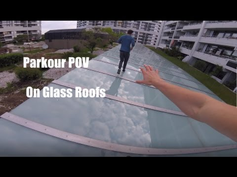 Epic Parkour POV On Glass Roofs/GoPro HERO4Session