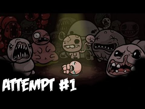 The Binding of Isaac Walkthrough Part 1 - 1st Attempt! - PC/Mac Gameplay & Commentary