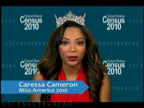 A 2010 Census message from Miss America