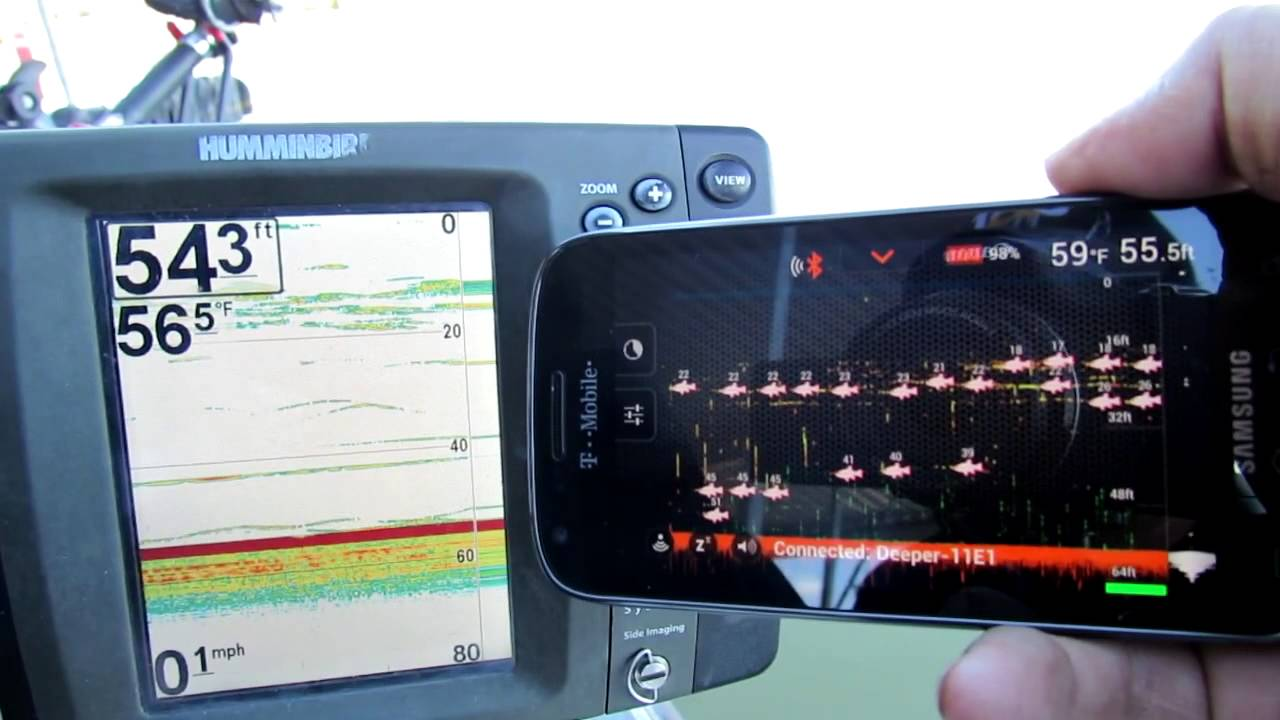 deeper fish finder vs humminbird 797c2 - youtube, Fish Finder